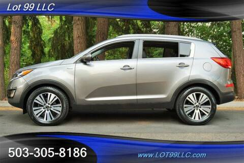 2016 Kia Sportage for sale at LOT 99 LLC in Milwaukie OR