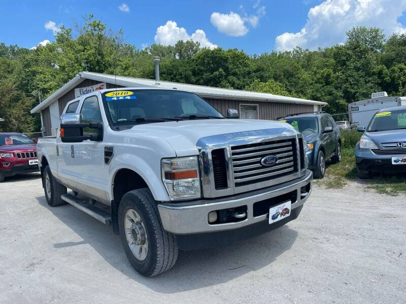 2010 Ford F-250 Super Duty for sale at Victor's Auto Sales Inc. in Indianola IA