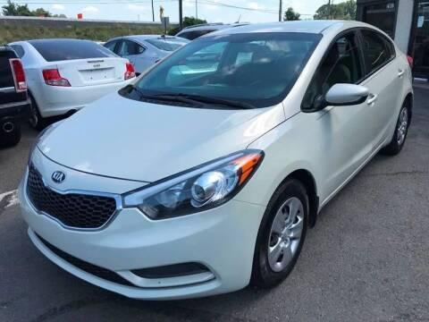 2014 Kia Forte for sale at Luxury Unlimited Auto Sales Inc. in Trevose PA
