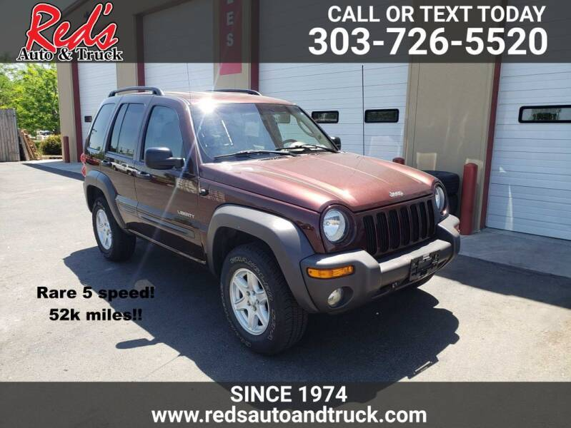 2004 Jeep Liberty for sale at Red's Auto and Truck in Longmont CO