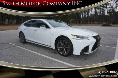 2018 Lexus LS 500 for sale at Smith Motor Company INC in Mc Cormick SC