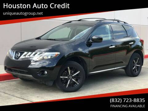 2009 Nissan Murano for sale at Houston Auto Credit in Houston TX