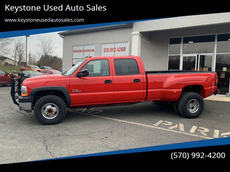 2002 Chevrolet Silverado 3500 for sale at Keystone Used Auto Sales in Brodheadsville PA