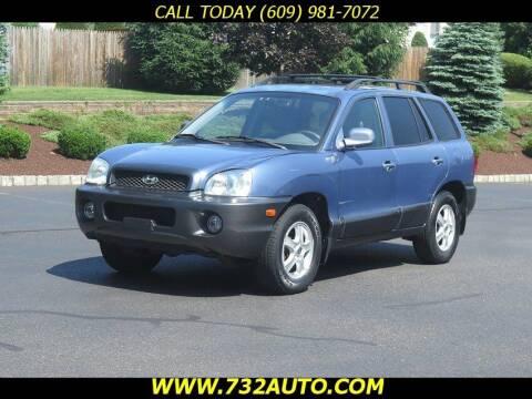 2002 Hyundai Santa Fe for sale at Absolute Auto Solutions in Hamilton NJ