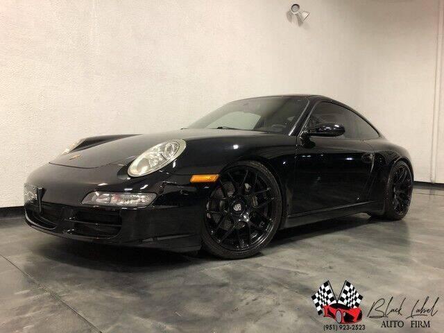 2005 Porsche 911 for sale at BLACK LABEL AUTO FIRM in Riverside CA