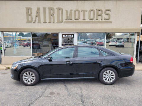2015 Volkswagen Passat for sale at BAIRD MOTORS in Clearfield UT
