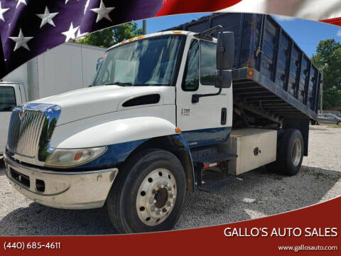 2003 International 4300 for sale at Gallo's Auto Sales in North Bloomfield OH