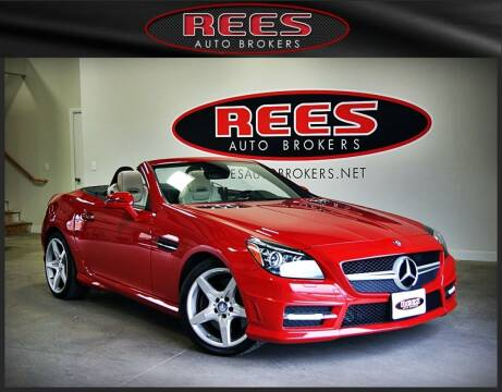 2013 Mercedes-Benz SLK for sale at REES AUTO BROKERS in Washington UT