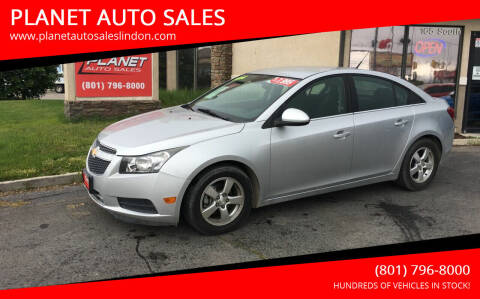2014 Chevrolet Cruze for sale at PLANET AUTO SALES in Lindon UT