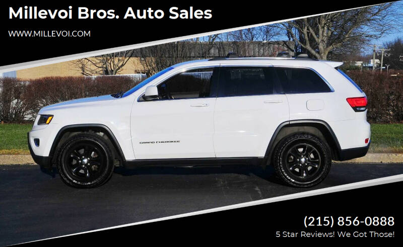 2014 Jeep Grand Cherokee for sale at Millevoi Bros. Auto Sales in Philadelphia PA
