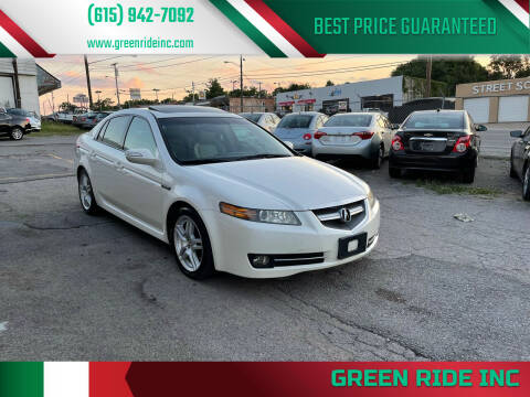 2007 Acura TL for sale at Green Ride Inc in Nashville TN