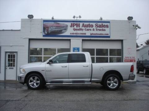 2014 RAM Ram Pickup 1500 for sale at JPH Auto Sales in Eastlake OH