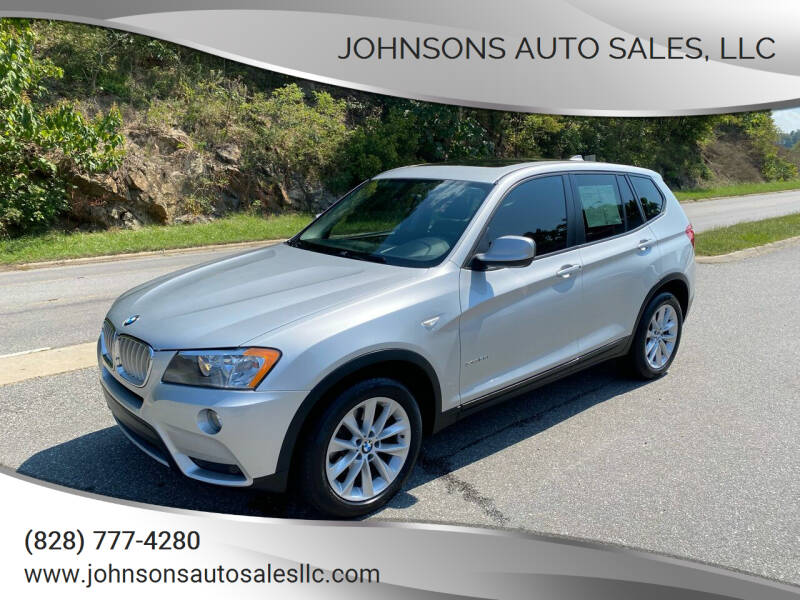 2013 BMW X3 for sale at Johnsons Auto Sales, LLC in Marshall NC
