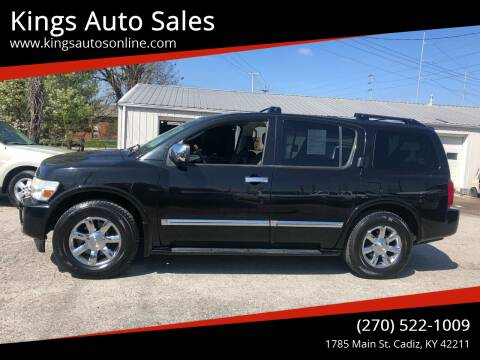 2006 Infiniti QX56 for sale at Kings Auto Sales in Cadiz KY