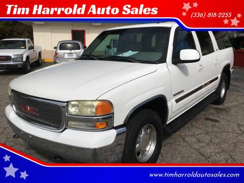 2002 GMC Yukon XL for sale at Tim Harrold Auto Sales in Wilkesboro NC