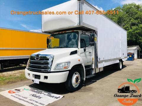 2012 Hino 268 for sale at Orange Truck Sales in Orlando FL