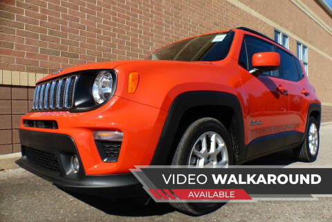 2021 Jeep Renegade for sale at Macomb Automotive Group in New Haven MI