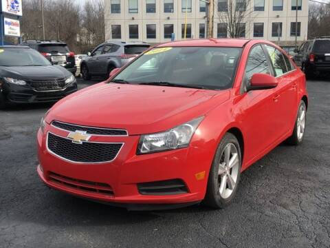 2014 Chevrolet Cruze for sale at All Star Auto  Cycle in Marlborough MA