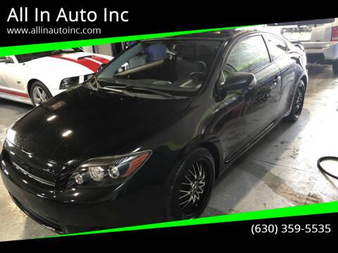 2009 Scion tC for sale at All In Auto Inc in Addison IL