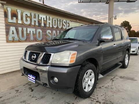 2004 Nissan Armada for sale at Lighthouse Auto Sales LLC in Grand Junction CO