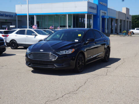 2019 Ford Fusion Hybrid for sale at Suburban Chevrolet of Ann Arbor in Ann Arbor MI