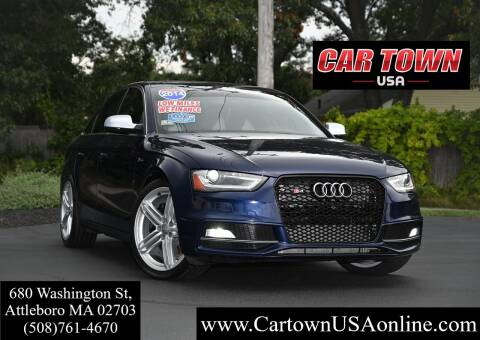 2014 Audi S4 for sale at Car Town USA in Attleboro MA