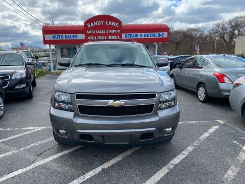 2008 Chevrolet Tahoe for sale at Sandy Lane Auto Sales and Repair in Warwick RI
