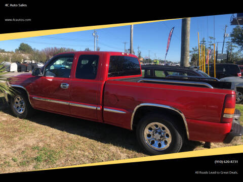 2002 GMC Sierra 1500 for sale at 4C Auto Sales in Wilmington NC
