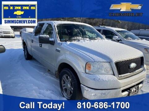 2007 Ford F-150 for sale at Aaron Adams @ Simms Chevrolet in Clio MI