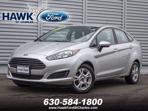 2016 Ford Fiesta for sale at Hawk Ford of St. Charles in St Charles IL