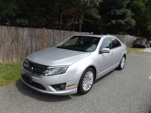 2010 Ford Fusion Hybrid for sale at Wayland Automotive in Wayland MA