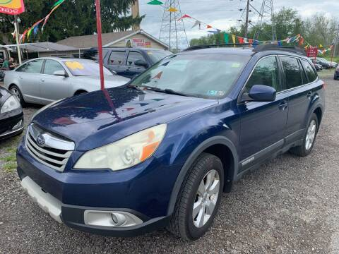 2010 Subaru Outback for sale at Trocci's Auto Sales in West Pittsburg PA