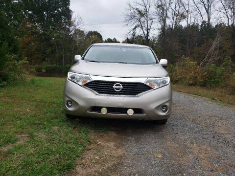 2011 Nissan Quest for sale at Richards's Auto Sales & Salvage in Denton NC