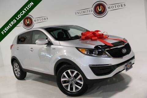 2016 Kia Sportage for sale at Unlimited Motors in Fishers IN