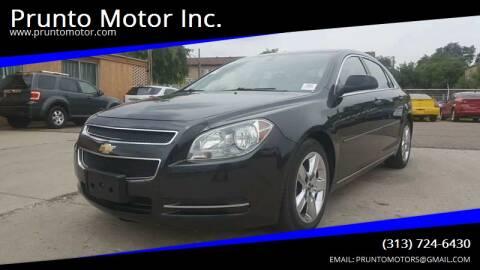 2010 Chevrolet Malibu for sale at Prunto Motor Inc. in Dearborn MI