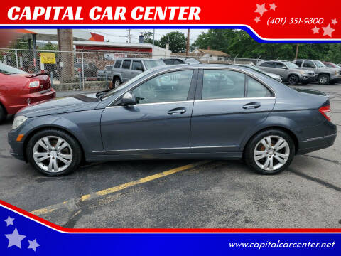 2008 Mercedes-Benz C-Class for sale at CAPITAL CAR CENTER in Providence RI