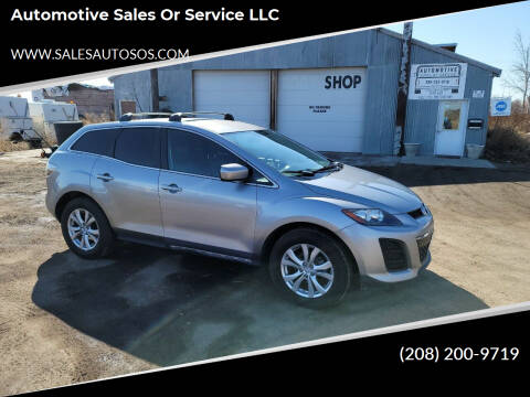2011 Mazda CX-7 for sale at Automotive Sales Or Service LLC in Rexburg ID