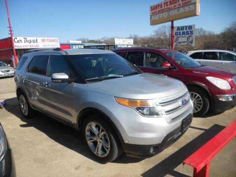 2012 Ford Explorer for sale at Car Depot in Fort Worth TX
