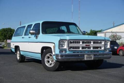 1976 GMC Suburban for sale at Classic Car Deals in Cadillac MI