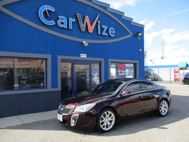 2017 Buick Regal for sale at Carwize in Detroit MI