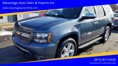 2010 Chevrolet Tahoe for sale at Advantage Auto Sales & Imports Inc in Loves Park IL