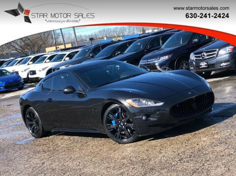 2010 Maserati GranTurismo for sale at Star Motor Sales in Downers Grove IL