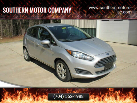 2014 Ford Fiesta for sale at Southern Motor Company in Lancaster SC