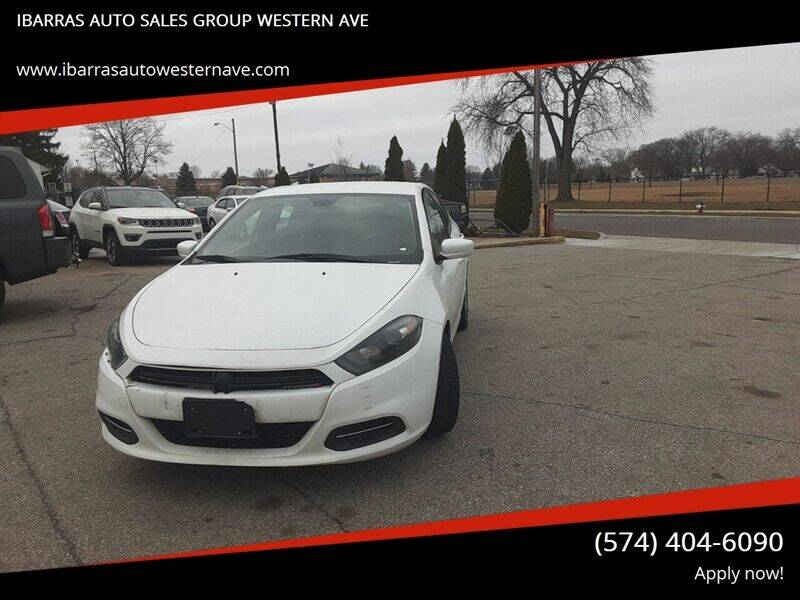 2015 Dodge Dart for sale at Ibarras Group - IBARRAS AUTO SALES GROUP WESTERN AVE in South Bend IN