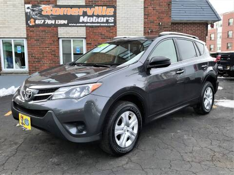 2015 Toyota RAV4 for sale at Somerville Motors in Somerville MA