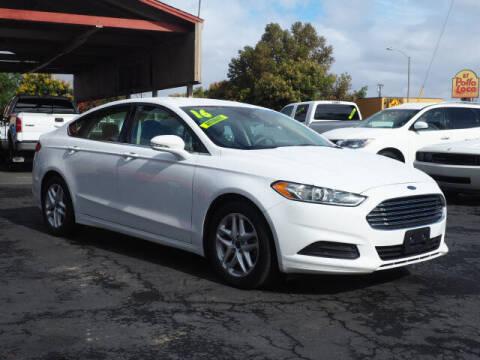 2016 Ford Fusion for sale at Corona Auto Wholesale in Corona CA