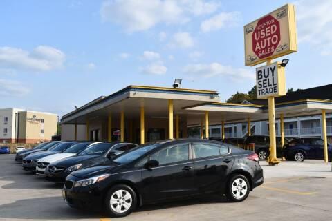 2017 Kia Forte for sale at Houston Used Auto Sales in Houston TX