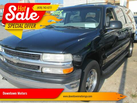 2001 Chevrolet Suburban for sale at Downtown Motors in Macon GA