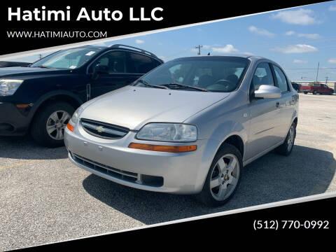 2006 Chevrolet Aveo for sale at Hatimi Auto LLC in Buda TX