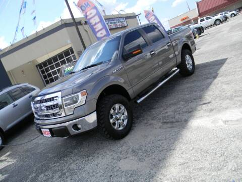 2014 Ford F-150 for sale at Meridian Auto Sales in San Antonio TX